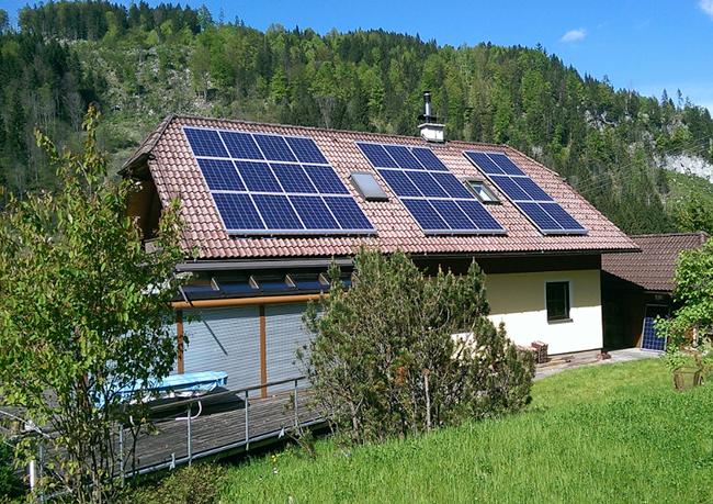 Photovoltaik Einfamilienhaus